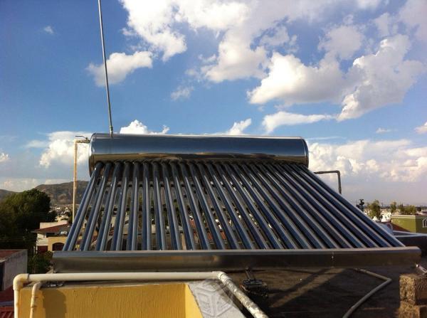 Calentadores Solares Attach Constructions